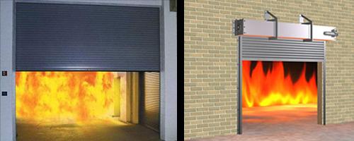 Kết quả hình ảnh cho Cửa cuốn Austdoor chống cháy