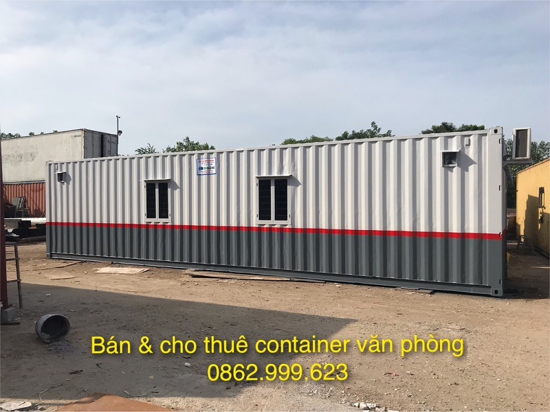 Dịch vụ thuê container văn phòng - Huy Thắng Container