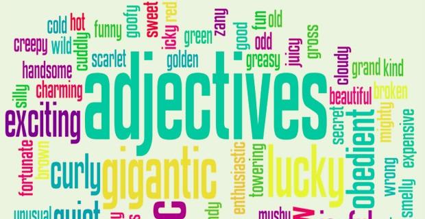 good descriptive words for online dating