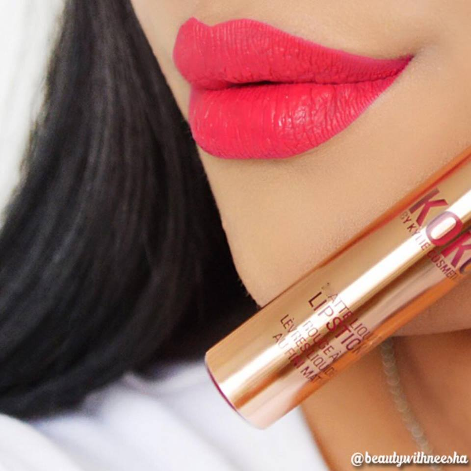 SON KYLIE KOKO KOLLECTION MATTE LIQUID LIPSTICK - MÀU OKURRR