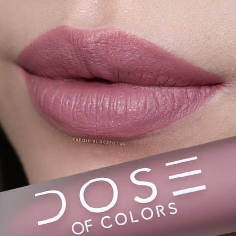 SON DOSE OF COLORS  MATTE LIQUID LIPSTICK - MÀU TRUFFLE