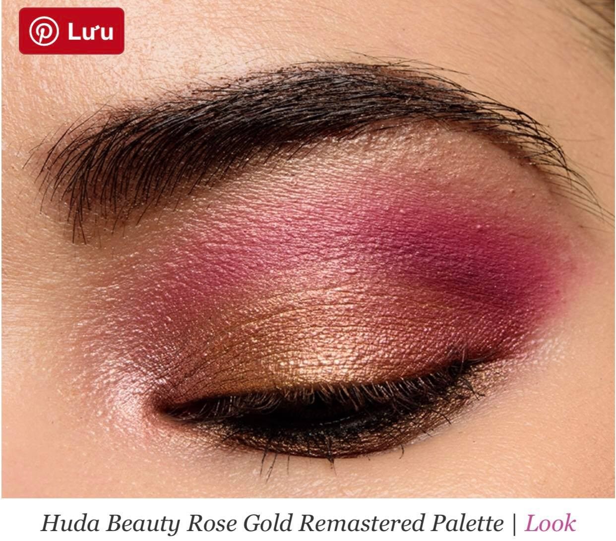 PHẤN MẮT HUDA BEAUTY ROSE GOLD REMASTERED EYESHADOW PALETTE