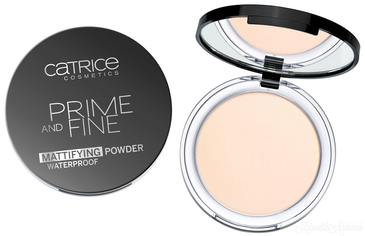 PHẤN PHỦ NÉN CATRICE WATERPROOF MATTIFYING POWDER