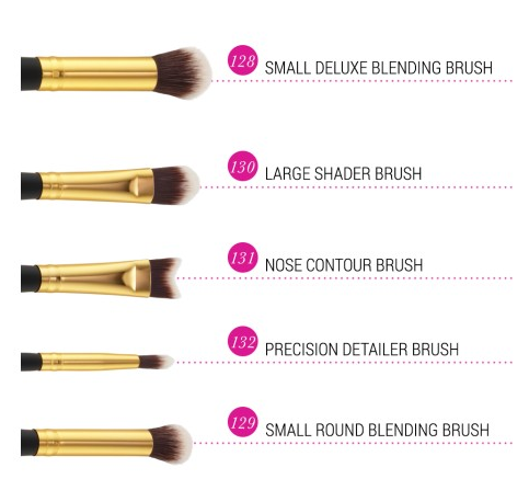 BỘ CỌ BH COSMETICS SCULPT AND BLEND 2- 10 PIECE BRUSH SET