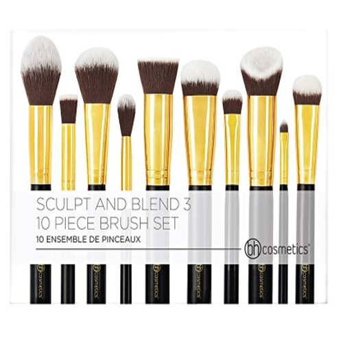 BỘ CỌ BH COSMETICS SCULPT AND BLEND 3- 10 PIECE BRUSH SET