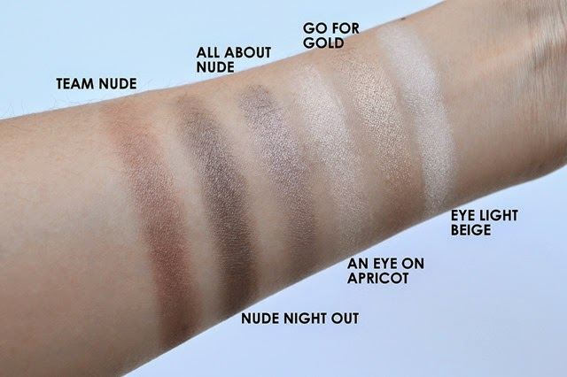 PHẤN MẮT ESSENCE HOW TO MAKE NUDE EYE PALETTE