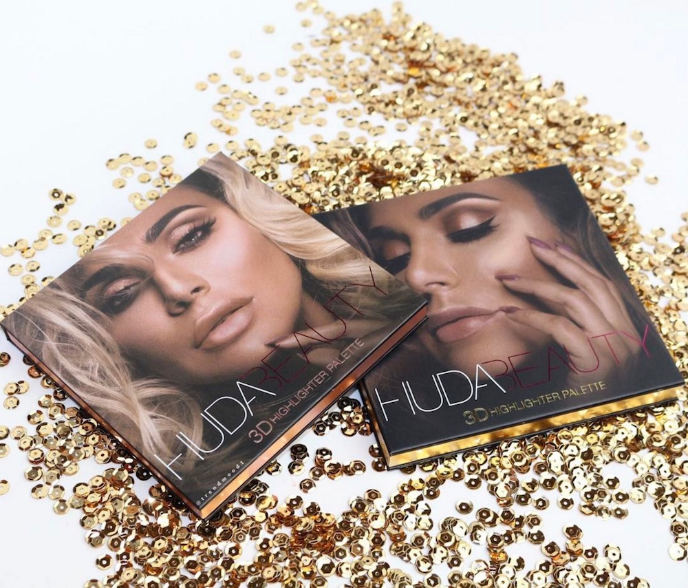 PHẤN HIGHLIGHT HUDA BEAUTY 3D HIGHLIGHTER PALETTE - GOLD SAND