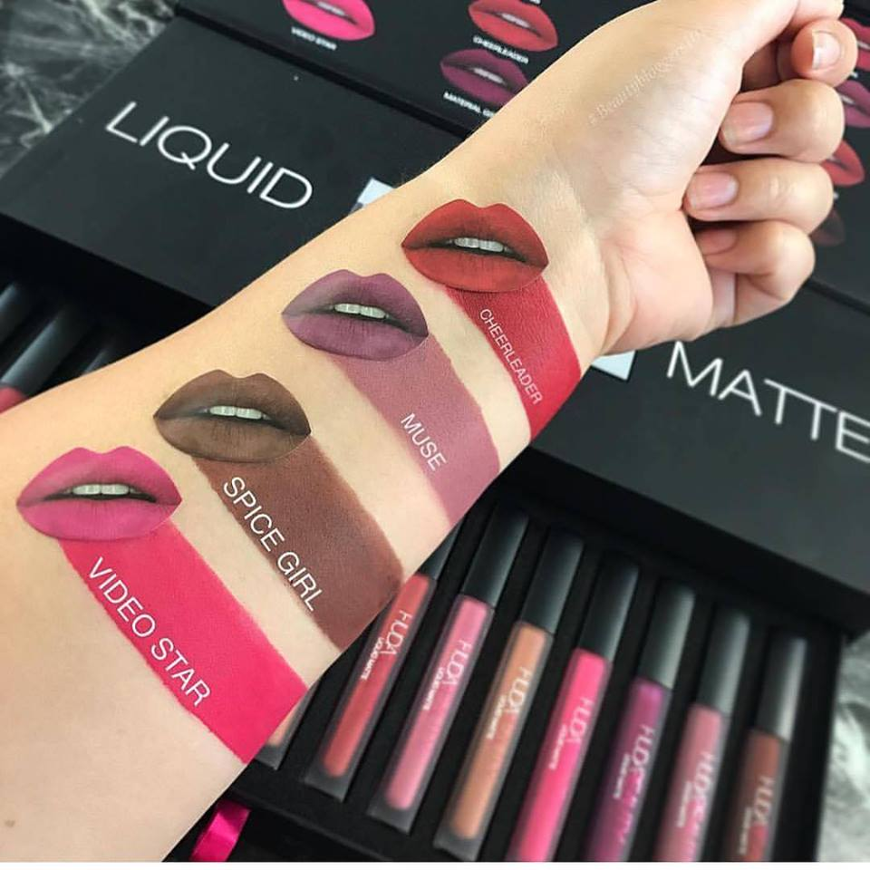 SON HUDA BEAUTY LIQUID MATTE - MÀU MUSE