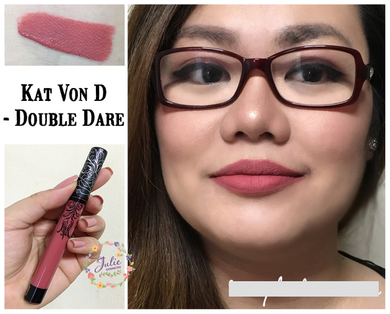 SON KAT VON D EVERLASTING LIQUID LIPSTICK - MÀU DOUBLE DARE
