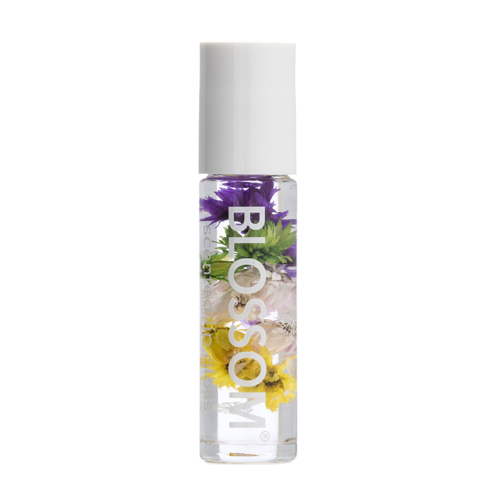 BLOSSOM SCENTED AND FLAVORED MOISTURIZING ROLL-ON LIP GLOSS
