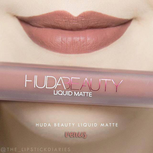 SON HUDA BEAUTY LIQUID MATTE - MÀU VENUS