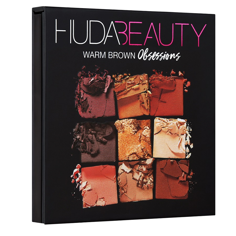 PHẤN MẮT HUDA BEAUTY OBSESSIONS PALETTE WARM BROWN 9 Ô