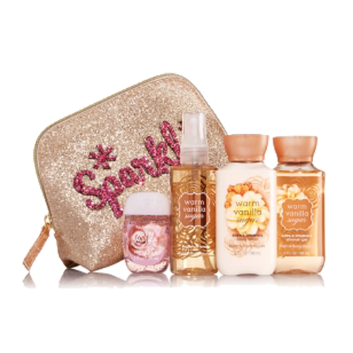MINI GIFT SET  WARM VANILLA SUGAR BATH & BODY WORKS
