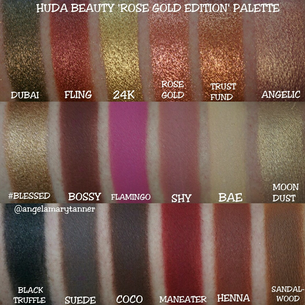 PHẤN MẮT HUDA BEAUTY TEXTURED SHADOW PALETTE ROSE GOLD EDITION