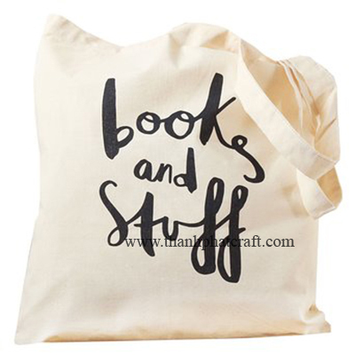 Books & Stuff Canvas Bag