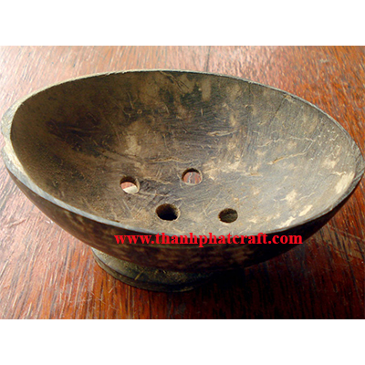 coconut shell soap dish