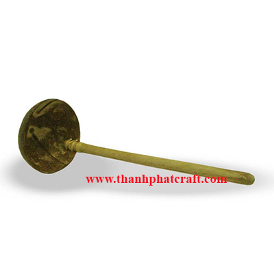 Coconut shell spoon