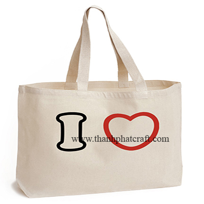 i Heart Canvas Bag
