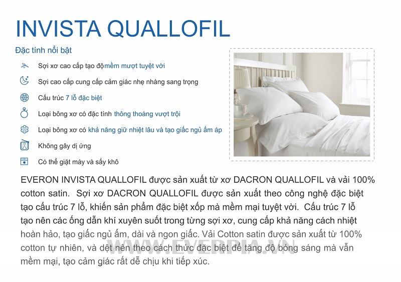 Ruột Chăn Invista Quallofil