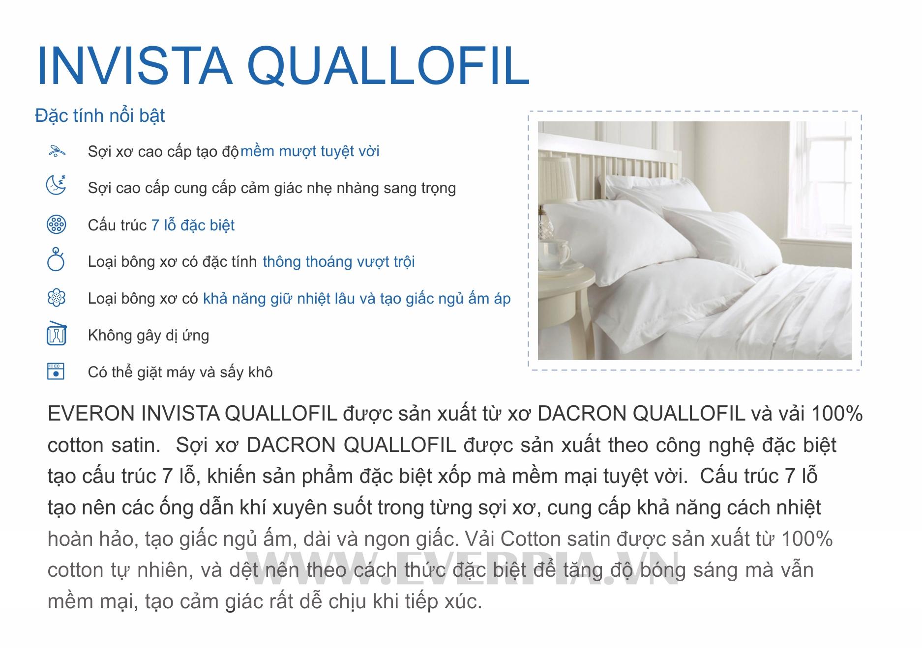 Ruột Gối Everon Invista Quallofil