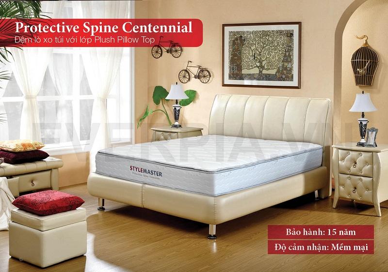 Đệm lò xo túi Protective Spine Centennial