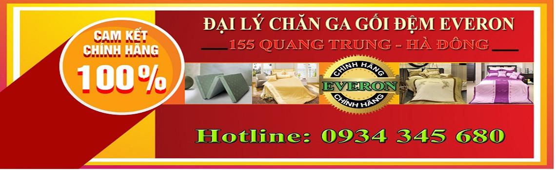 Địa lý chan ga gối đệm Everon 155 Quang Trung Hà Đông