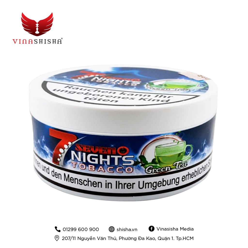 7 Nights Tobacco 200g - Green Time