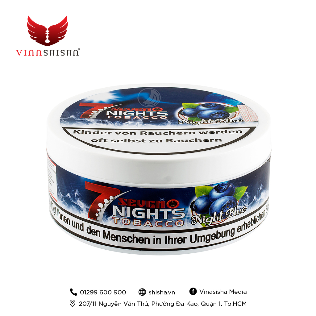 7 Nights Tobacco 200g - Night Blue