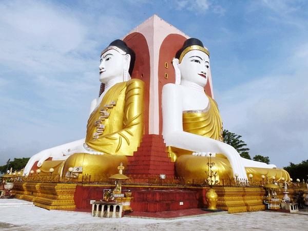 Tham quan chiêm bái chùa Kyaikpu