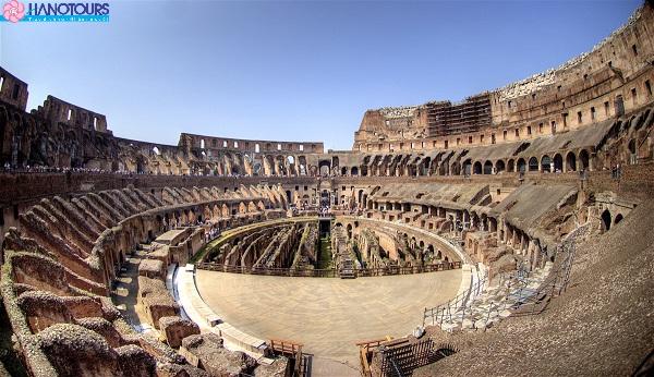 Đấu Trường La Mã Colosseum Châu Âu