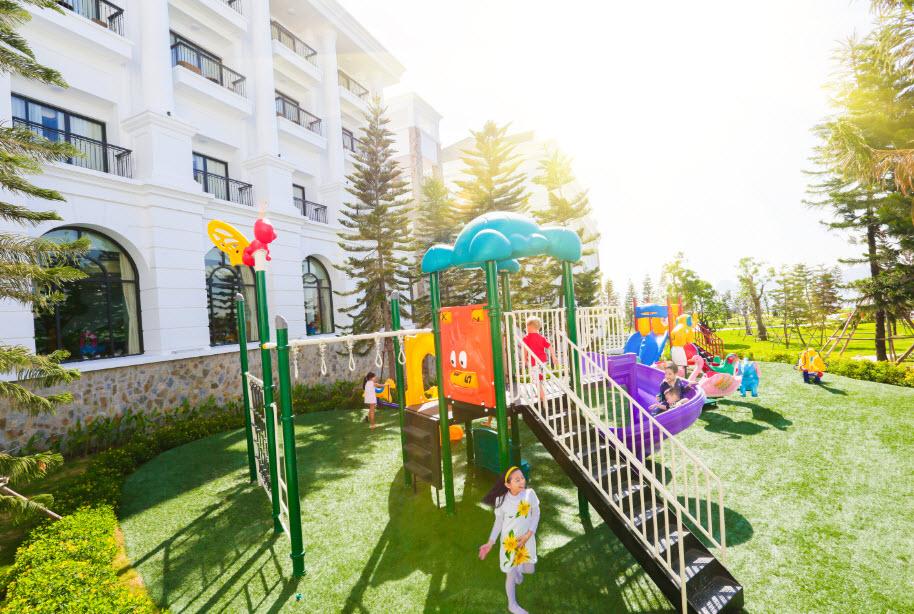 khu vui chơi trẻ em tại Vinpearl Hạ Long