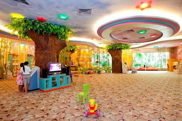 vui chơi trẻ em kid club tại vinpearl resort nha trang