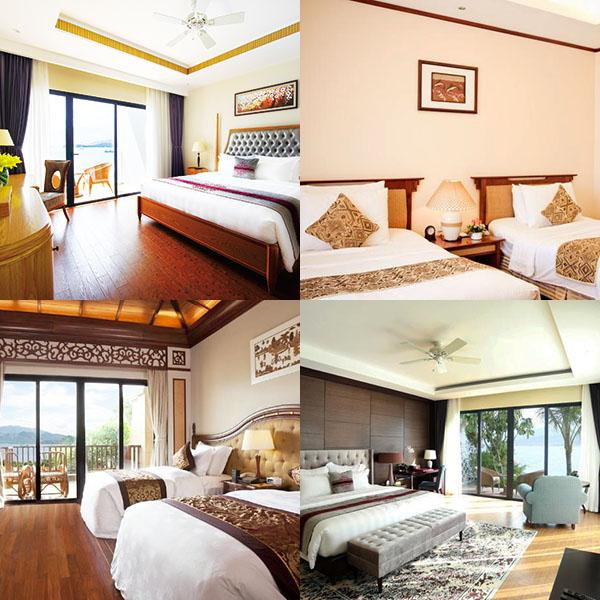 phòng nghỉ tại vinpearl nha trang bay resort & villas