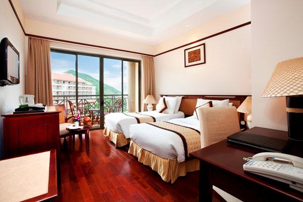 phòng nghỉ tại Vinpearl Resort Nha Trang