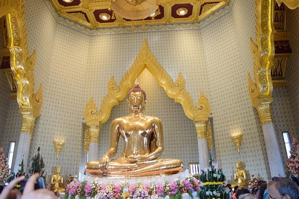 Tượng Phật Vàng, Thái Lan