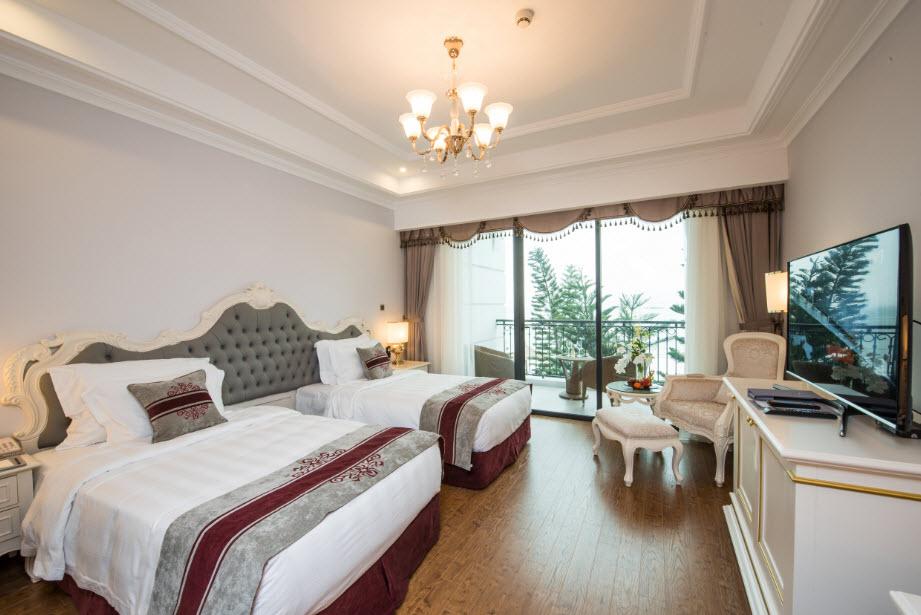 Phòng nghỉ tại Vinpearl Hạ Long