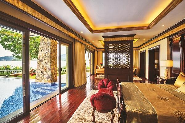 Phòng nghỉ tại Vinpearl Luxury Nha Trang