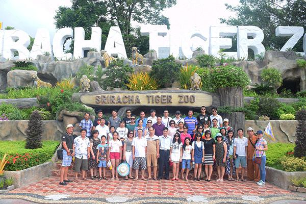 Vườn Hổ - Tiger Zoo, Thái Lan