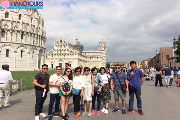 Du lịch Châu Âu 2018