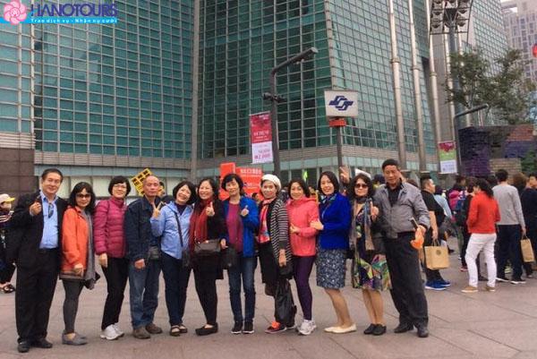 Tháp TAIPEI 101 - tòa tháp cao 101 tầng nổi tiếng nhất Đài Loan