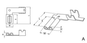 350 Series Flag Receptacles   810901