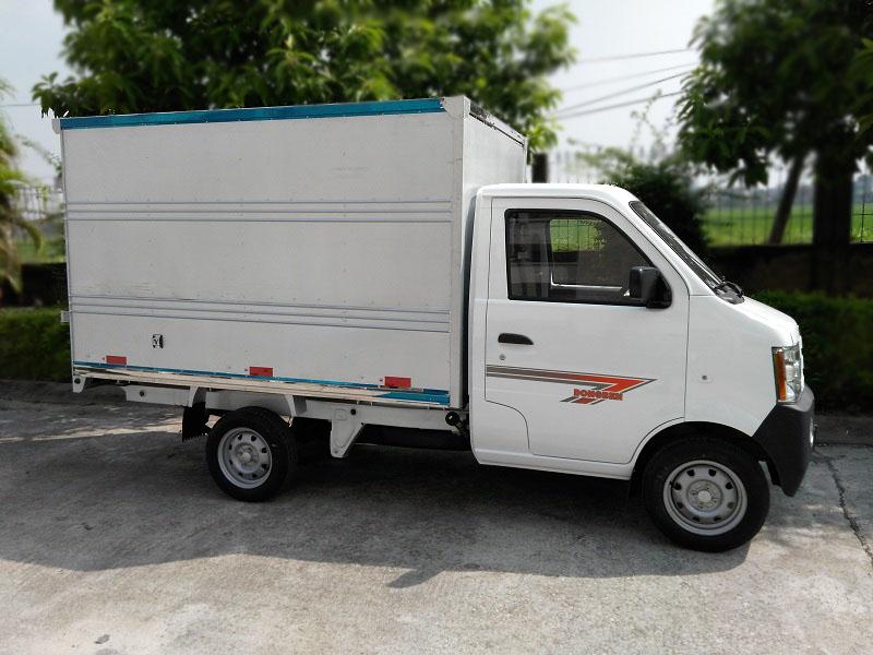 Kết quả hình ảnh cho Xe Dongben 870kg thùng kín