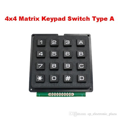 MCU Membrane Switch KEYPAD 4x4 16 KEY