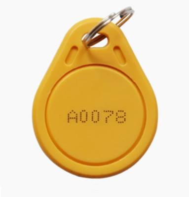 Keytag 125Khz-06 Yellow