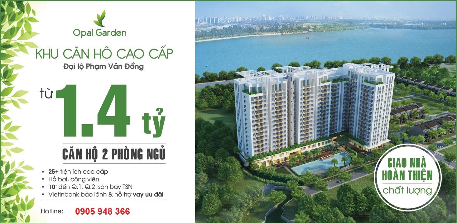 Thông tin dự án căn hộ cao cấp opal skyview