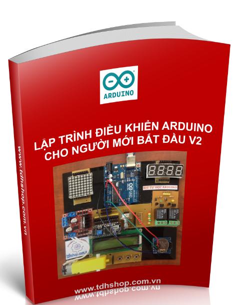 lập trình điều khiển arduino cho người mới bắt đầu