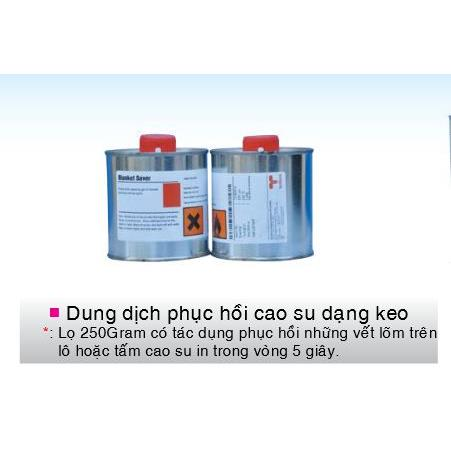 Dung dịch phục hồi cao su dạng keo
