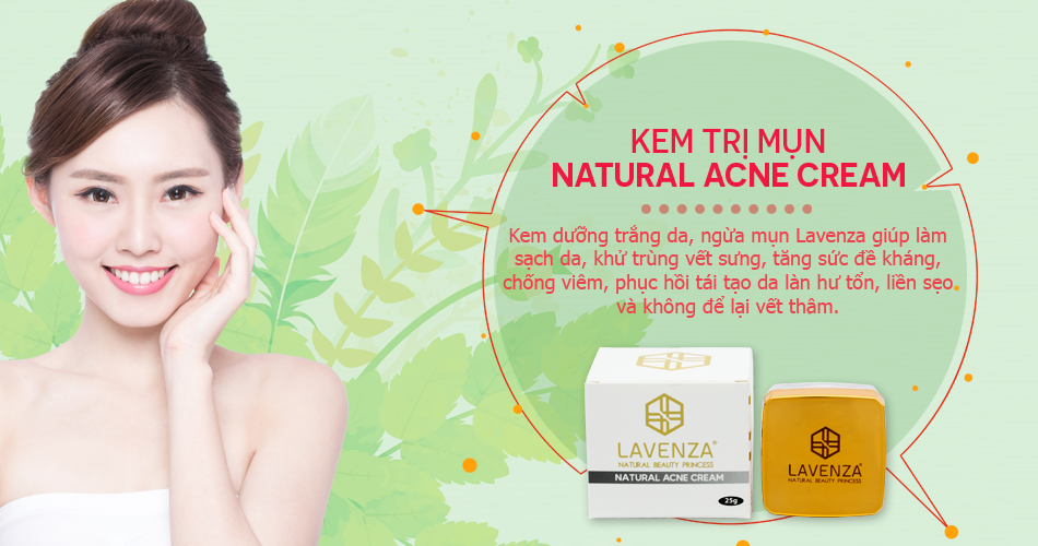 kem trị mụn NaturalAcne Cream