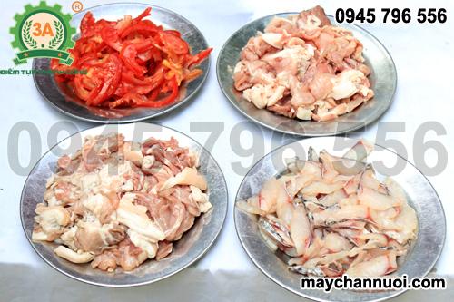 Máy thái thịt nhà hàng 3A850W