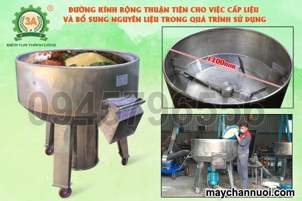 Máy trộn nguyên liệu chăn nuôi3A4Kw